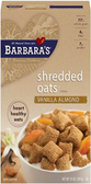 Barbara's Shredded Oat's - Vanilla Almond -14oz