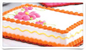 Assorted Birthday Cakes -1/4 Sheet
