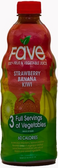 Fave Fruit & Vegetable Juice - Strawberry Banana Kiwi -46oz