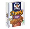 Quaker Chewy Oatmeal Raisin Granola Bar -10 ct