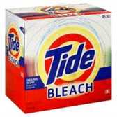 Tide Original Powdered Laundry Detergent W/ Bleach 30 Loads