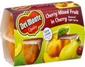 Del Monte - Cherry Mixed Fruit -4ct
