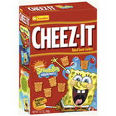 Cheez-It Baked Snack Crackers SpongeBob Square Pants-13.7 oz