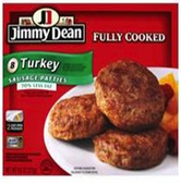 Jimmy Dean - Turkey Sausage Patties -8.9oz