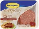 Turkey Burger Patties -lb