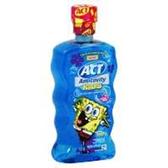 Act Spongebob Anti Cavity Rinse Oceanberry - 16.9 Oz