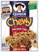 Quaker Chewy Chocolate Chip Granola Bar -10 pk 1