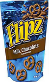 Flipz Milk Chocolate Covered Pretzels -5oz