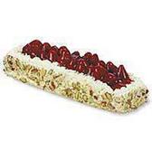 Large Fresh Strawberry White Bar Cake