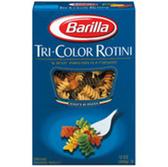 Barilla Rotini Tri Color Pasta  - 12 oz