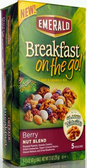Emerald Breakfast On the Go Bars - Berry Nut Blend -5 pouches