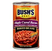 Bush's Maple Cured Bacon Beans -28 oz