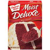 Duncan Hines Moist Deluxe Red Velvet Cake Mix-18.25 oz