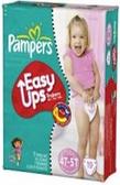 Pamper's Girls Easy Ups 4T - 5T -19ct