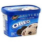 Breyers Parlor OREO Ice Cream -1.5 qt