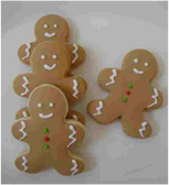 Ginger Bread Holiday Cookies 1