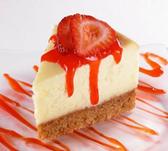Strawberry Cream Cheese Cheese Cake -1ct