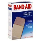 Band Aid Extra Large Plastic Bandages - 60 Count