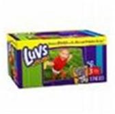 Luvs Premium Stretch Diapers Size 3 - 34 pk