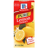 McCormick Specialty Extracts Pure Lemon Extract -1 oz