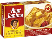 Aunt Jemima Home-style French Toast -6 ct