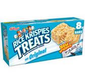 Kellogg's Marshmallow Rice Krispy Treats Original-8 pk