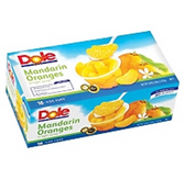 Dole Mandarin Orange Cups - 16 - 4 oz
