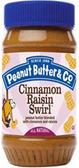 Peanut Butter & Co. - Cinnamon Raisin Swirl -16oz