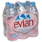 Evian Water - 6 pk