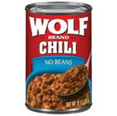 Wolf No Beans Chili -15 oz