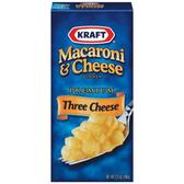Kraft Mac & Cheese Three Cheese Shells -7.25 oz