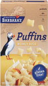 Barbara's Puffins - Honey Rice -10oz