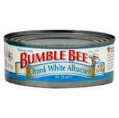 Bumble Bee Chunk White Albacore Tuna in Water -5 oz