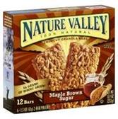 Nature Valley Maple Brown Sugar Granola Bar -6 pk