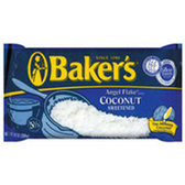 Baker's Sweetened Coconut Flaked - 14 oz