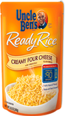 Uncle Ben's Ready Rice - Creamy Four Cheese -8.8oz