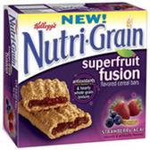 Kellogg's Nutri-Grain Super Fruit Fusion Bar -6 pk