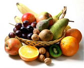 25 Serving Seasonal Organic Fruit Bin - Assorted