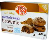 Enjoy Life Soft Baked Cookies - Double Chocolate Brownie Cookies