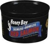 Honey Boy - Red Salmon Skinless -6oz