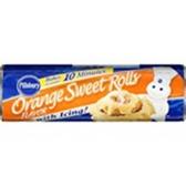Pillsbury Flaky Supreme Orange Sweet Rolls with Icing