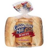 Cobblestone Mill White Sub Rolls -6 ct