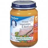 Gerber  Baby 3rd Food Mixed Vegetables & Beef