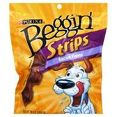 Beggin Strips Dog Treats Bacon Snack - 10 Oz