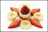 Frozen Strawberry and Banana Blend - 16 oz