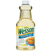 Wesson Vegetable Oil -48 oz
