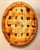 "8"" Sugar Free Peach Pie -1ct"