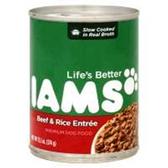 Iams Premium Beef And Rice Entree Dog Food - 13.2 Oz