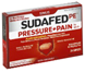 Sudafed PE Pressure + Pain For Adults Maximum Strength Caplets,
