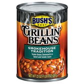 Bush's  Best Grillin' Beans Smokehouse Tradition -22 oz